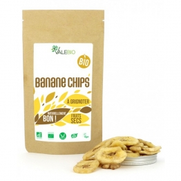 VALEBIO FRUITS SECS BANANE CHIPS BIO 120G