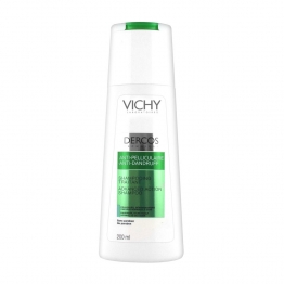 VICHY DERCOS ANTI-PELLICULAIRE SHAMPOOING TRAITANT CHEVEUX NORMAUX A GRAS 200ML