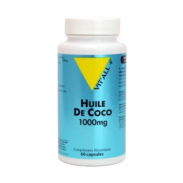 VIT'ALL+ HUILE DE COCO 1000MG 60 CAPSULES