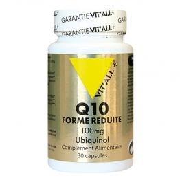 VIT'ALL+ FORME REDUITE Q10 100MG 30 CAPSULES