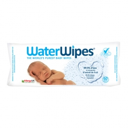 WATERWIPES LINGETTES BEBE X60