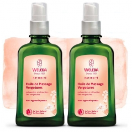 WELEDA HUILE DE MASSAGE VERGETURE DUO 100ML