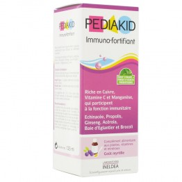 PEDIAKID IMMUNO FORTIFYING SYRUP  BLUEBERRY FLAVOUR 125 ML