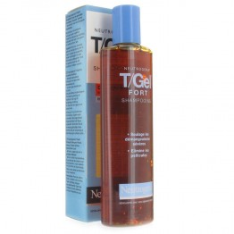 NEUTROGENA T/GEL FORT SHAMPOOING ANTIPELLICULAIRES DÉMANGEAISONS INTENSES FLACON 250ML