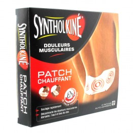 SYNTHOLKINE 2 PATCHS CHAUFFANT 8H DOULEURS MUSCULAIRES