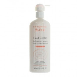 AVENE COLD CREAM GEL NETTOYANT SURGRAS 400 ML