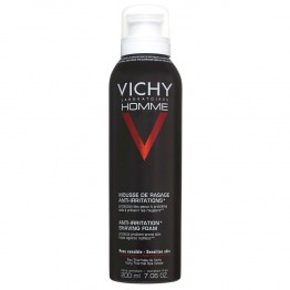 VICHY HOMME MOUSSE A RASER ANTI-IRRITATIONS PEAU SENSIBLE 200ML