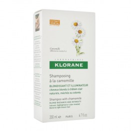 KLORANE SHAMPOOING A LA CAMOMILLE 200ML