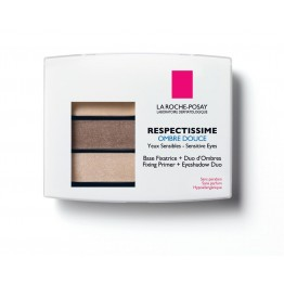 LA ROCHE-POSAY RESPECTISSIME YEUX OMBRE DOUCE 02 SMOKY BRUN