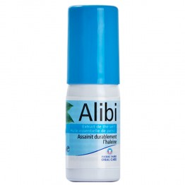 ALIBI SPRAY BUCCAL HALEINE FRAICHE THE VERT ET PERSIL 15 ML