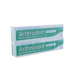ARTHRODONT PROTECT GEL DENTIFRICE FLUORE 2X75ML