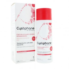 BIORGA CYSTIPHANE SHAMPOOING ANTIPELLICULAIRE INTENSIF DS 200ML