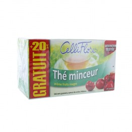 JUVAMINE CELLIFLORE THE MINCEUR 24 SACHETS
