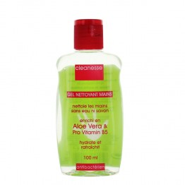 CLEANESSE GEL NETTOYANT MAINS ALOE VERA 100ML