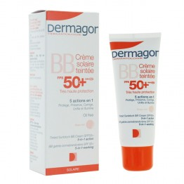 DERMAGOR BB CREME SOLAIRE TEINTEE FPS 50+ 40ML