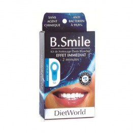 DIET WORLD B SMILE KIT NETTOYAGE DENTS BLANCHES