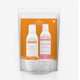 ESTIPHARM CASTERA TROUSSE SOLAIRE BRUME THERMALE 50ML + SPRAY SOLAIRE SPF50 50ML