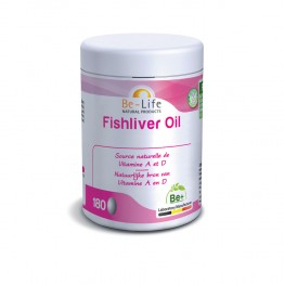 BIOLIFE BE LIFE FISHLIVER OIL 180 GELULES
