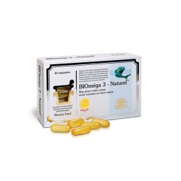 PHARMA NORD BIOMEGA 3 NATUREL 80 CAPSULES