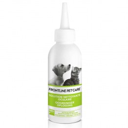 FRONTLINE PET CARE SOLUTION NETTOYANTE OCCULAIRE 125ML