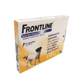FRONTLINE SPOT-ON CHIEN 2-10KG 4 PIPETTES