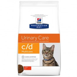 HILLS PRESCRIPTION DIET URINARY CARE C/D MULTICARE CHAT CROQUETTES AU POULET 1.5KG