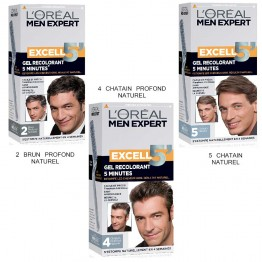 loreal excell5 gel colorant cheveux pour homme - Just For Men Coloration Cheveux Homme