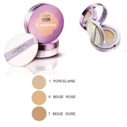 L'OREAL NUDE MAGIQUE CUSHION FOUNDATION NUDE ECLAT 14.6G