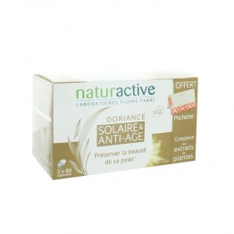 NATURACTIVE DORIANCE ANTI AGE SOLAIRE 2X60 CAPSULES