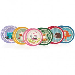 NUBY ASSIETTES BAMBOU BIODEGRADABLE X2