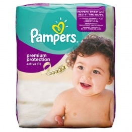 PAMPERS COUCHES ACTIVE FIT T4 8-16KG 24 UNITES