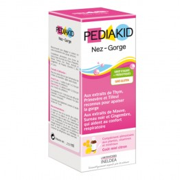 PEDIAKID NEZ-GORGE - FLACON 250ML