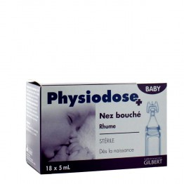 GILBERT PHYSIODOSE BABY NEZ BOUCHE 18x5 ML