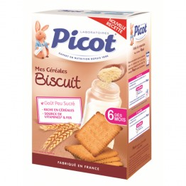 PICOT CEREALES BISCUIT DES 6 MOIS 400G