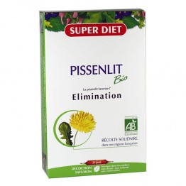 SUPERDIET PISSENLIT ELIMINATION - BOITE DE 20 AMPOULES 15ML