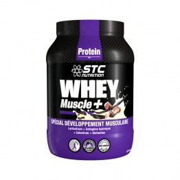 STC WHEY MUSCLE + PROTEIN 750G AVEC CUILLERE DOSEUSE