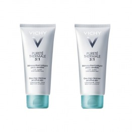 VICHY PURETE THERMALE DEMAQUILLANT 3 EN 1 - 2X300ML