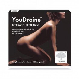 NEW NORDIC YOUDRAINE 120 COMPRIMES